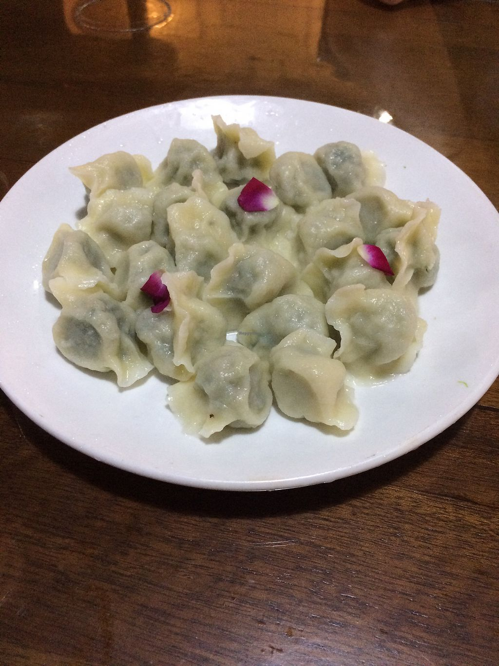 "Photo of Fu Hui Ci Yuan Vegetarian Cultural Restaurant  by <a href=""/members/profile/Italian.vegan"">Italian.vegan</a> <br/>Dumplings <br/> October 10, 2017  - <a href='/contact/abuse/image/28431/313939'>Report</a>"