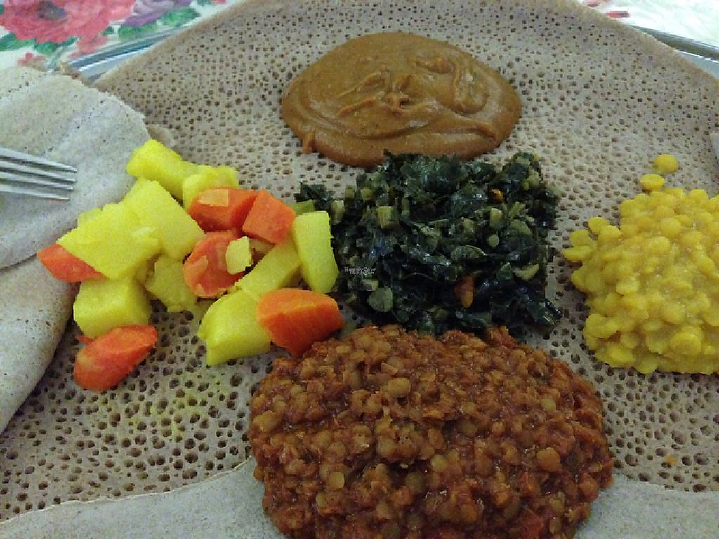 """Photo of Ethiopian Restaurant  by <a href=""""/members/profile/HamidSh"""">HamidSh</a> <br/>vegan dish <br/> January 8, 2017  - <a href='/contact/abuse/image/28466/209712'>Report</a>"""