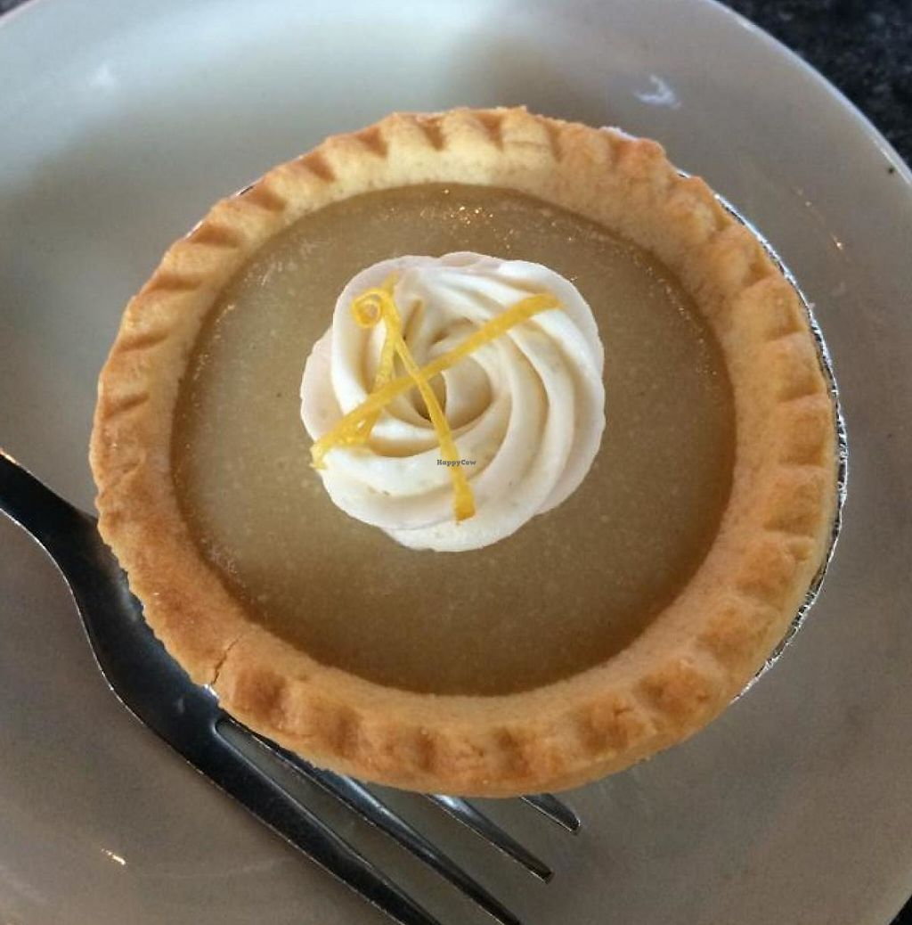 """Photo of Green Vegetarian Cuisine at Alon  by <a href=""""/members/profile/Meggie%20and%20Ben"""">Meggie and Ben</a> <br/>Mini lemon merengue pie <br/> August 16, 2014  - <a href='/contact/abuse/image/28476/230169'>Report</a>"""
