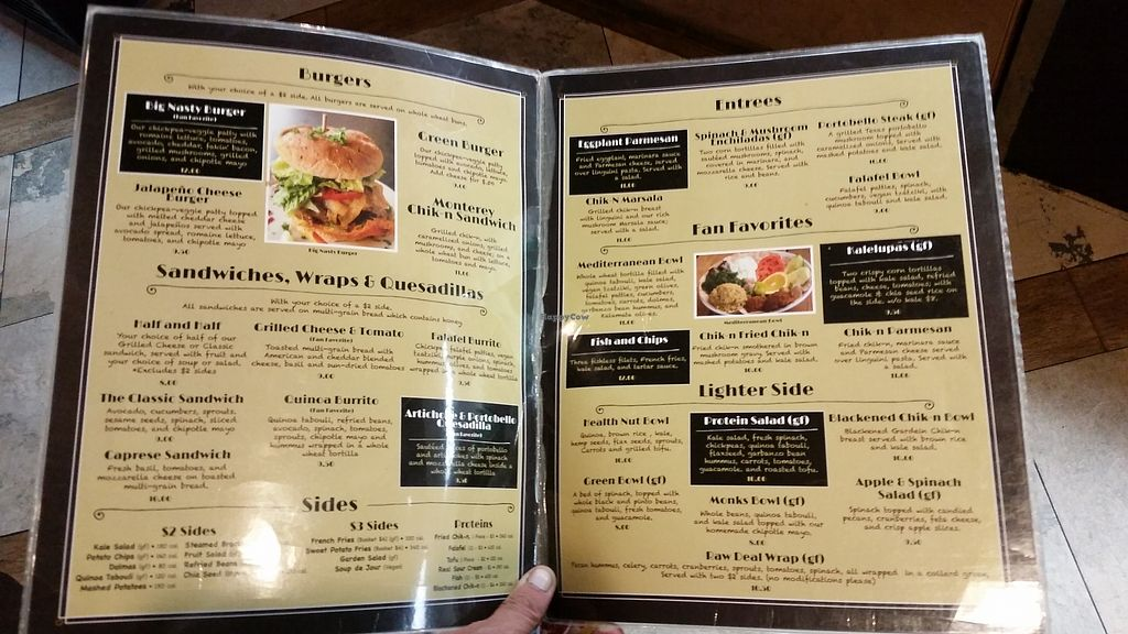 """Photo of Green Vegetarian Cuisine at Alon  by <a href=""""/members/profile/WhatDoYouEatThen"""">WhatDoYouEatThen</a> <br/>Green Vegetarian Cuisine Visited this vegetarian Restaurant with American Cuisine for the first time onSep 5, 2017 during the gas shortage in Texas because of the Houston Hurricane. Food was OK, but I prob wont go back, they were polite, but disinterested in my order. It was not real busy, and the taste was only OK, food was all room temp, the fries were not very good  http://whatdoyoueatthen.com/green-vegetarian-cuisine-san-antonio-tx/ <br/> December 17, 2017  - <a href='/contact/abuse/image/28476/336486'>Report</a>"""