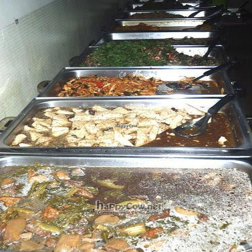 """Photo of Phounsub Restaurant  by <a href=""""/members/profile/reunioncafe"""">reunioncafe</a> <br/>Vegan lunch Buffet <br/> October 1, 2011  - <a href='/contact/abuse/image/28485/10942'>Report</a>"""