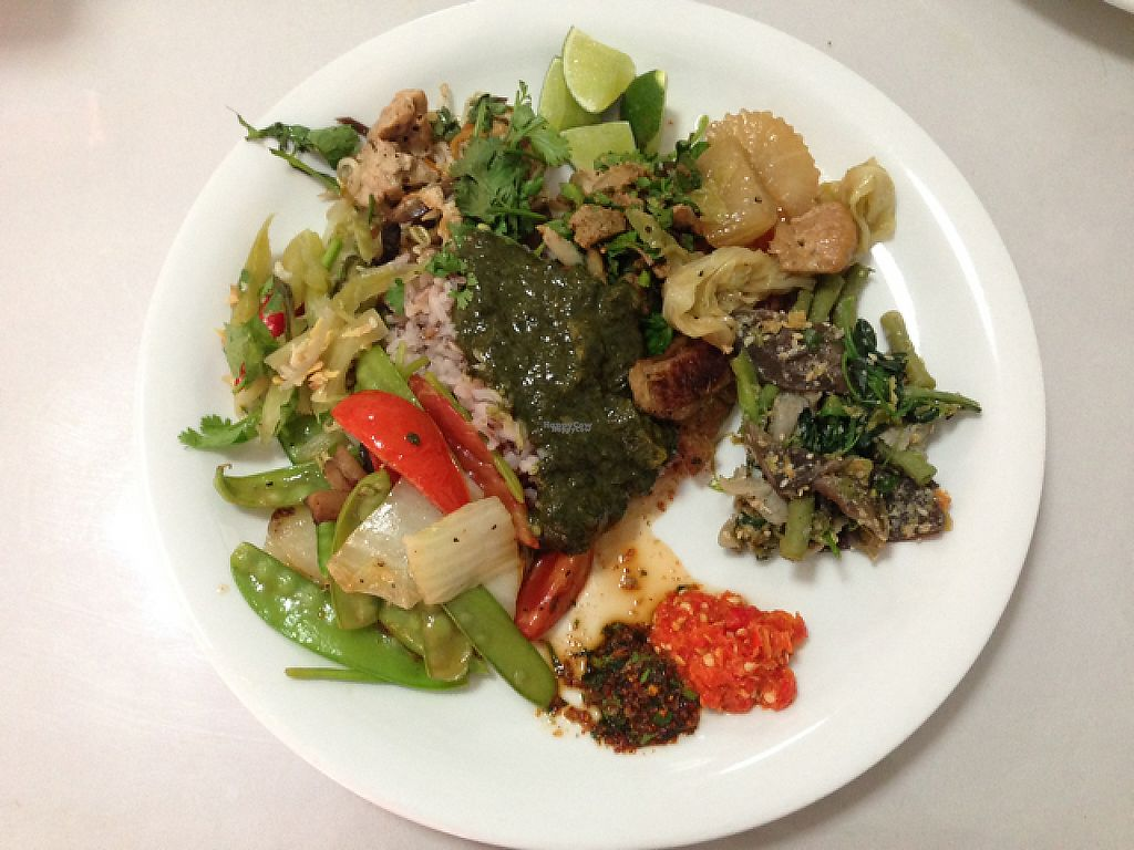 """Photo of Phounsub Restaurant  by <a href=""""/members/profile/Tofulicious"""">Tofulicious</a> <br/>From the buffet  <br/> January 20, 2017  - <a href='/contact/abuse/image/28485/213404'>Report</a>"""