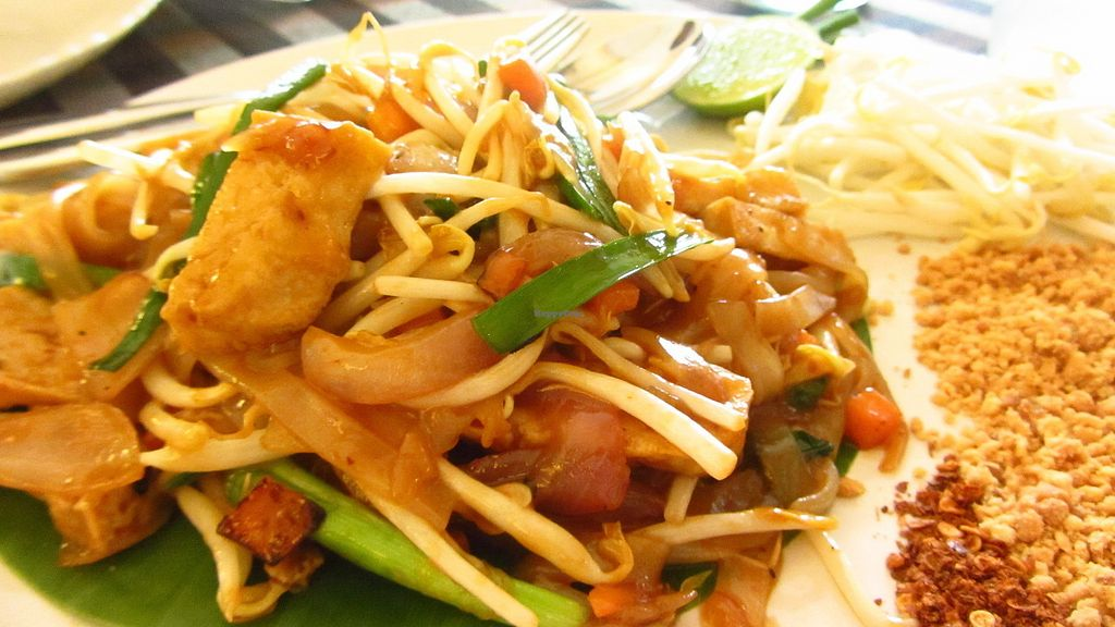 """Photo of May Veggie Home  by <a href=""""/members/profile/JaqVeganWriter"""">JaqVeganWriter</a> <br/>Pad Thai with Tamarind <br/> February 16, 2018  - <a href='/contact/abuse/image/28511/359943'>Report</a>"""