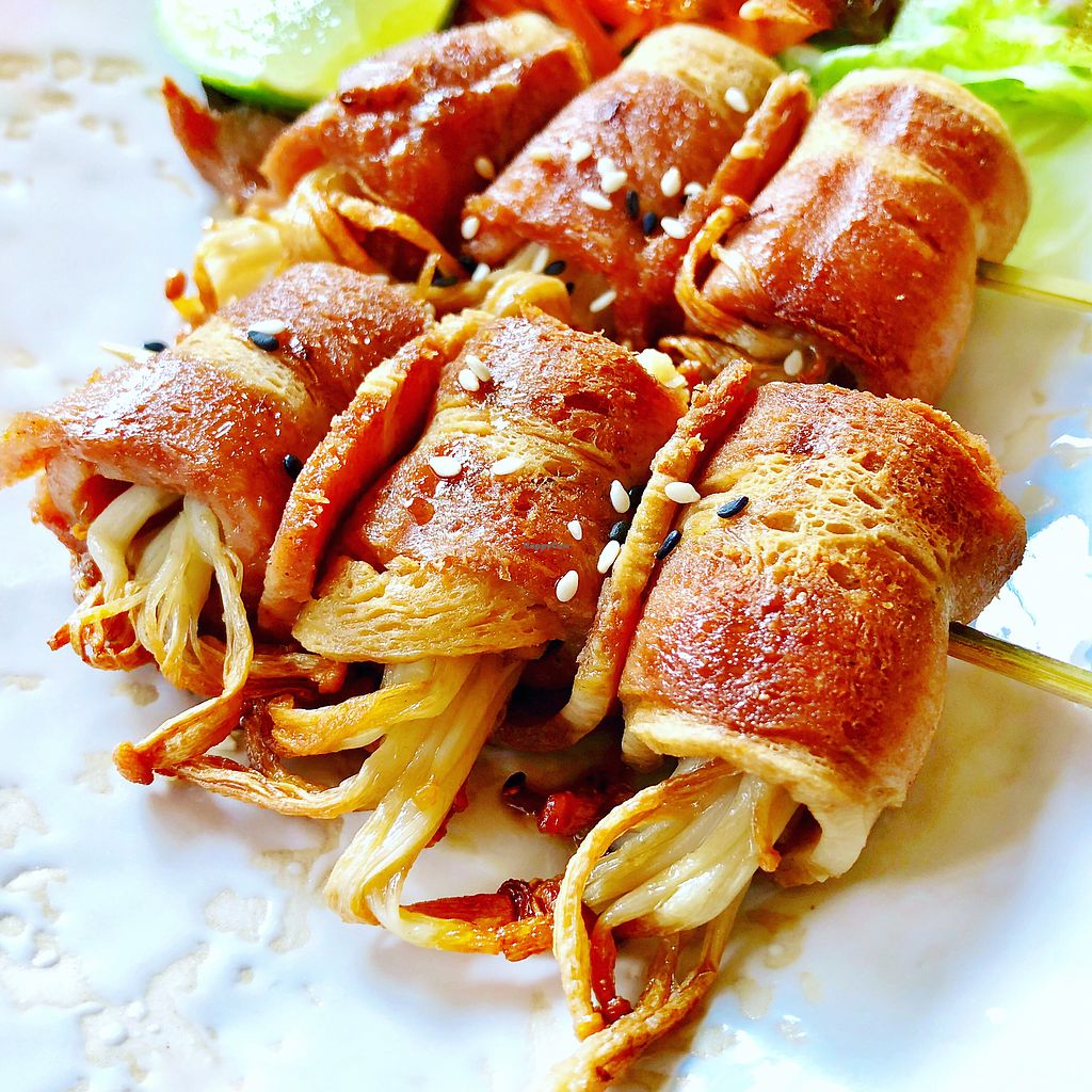 """Photo of May Veggie Home  by <a href=""""/members/profile/josephsuar"""">josephsuar</a> <br/>Bacon Wrapped Mushrooms  <br/> February 25, 2018  - <a href='/contact/abuse/image/28511/363660'>Report</a>"""