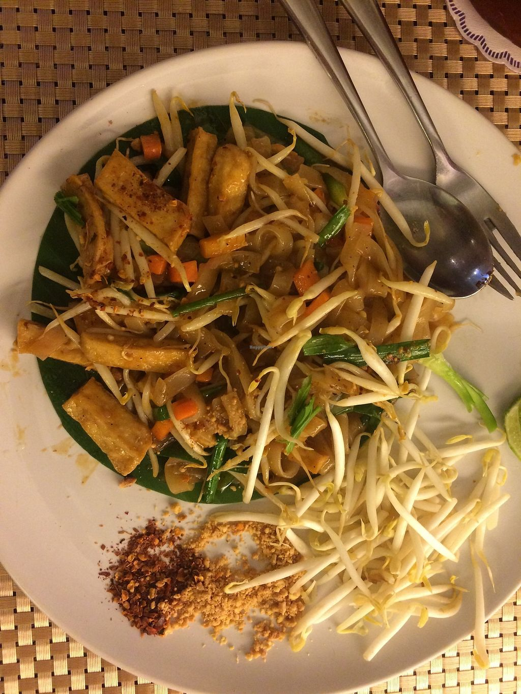"""Photo of May Veggie Home  by <a href=""""/members/profile/Megsriley_82"""">Megsriley_82</a> <br/>Vegan pad Thai with tofu <br/> April 2, 2018  - <a href='/contact/abuse/image/28511/379745'>Report</a>"""