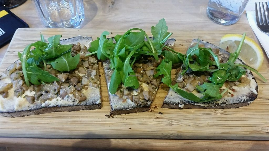 """Photo of Le Pain Quotidien - Kalandeberg  by <a href=""""/members/profile/NJ220"""">NJ220</a> <br/>Mushroom ? toast (seasonal) <br/> September 24, 2017  - <a href='/contact/abuse/image/28513/307795'>Report</a>"""
