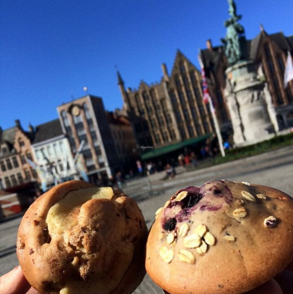 "Photo of CLOSED: Le Pain Quotidien - Philip Stockstraat  by <a href=""/members/profile/DollyWiggles"">DollyWiggles</a> <br/>yummy vegan muffins <br/> April 28, 2016  - <a href='/contact/abuse/image/28514/146609'>Report</a>"