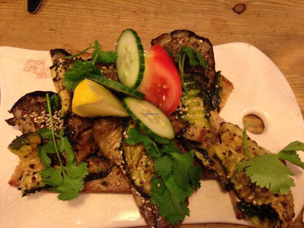 "Photo of CLOSED: Le Pain Quotidien - Philip Stockstraat  by <a href=""/members/profile/vegankt"">vegankt</a> <br/>grilled eggplant and zucchini sandwich   <br/> October 7, 2014  - <a href='/contact/abuse/image/28514/82391'>Report</a>"