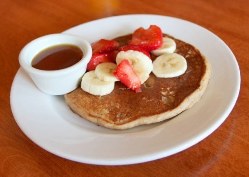 "Photo of Hugo's Restaurant  by <a href=""/members/profile/quarrygirl"">quarrygirl</a> <br/>vegan pancake <br/> February 2, 2012  - <a href='/contact/abuse/image/28542/186291'>Report</a>"