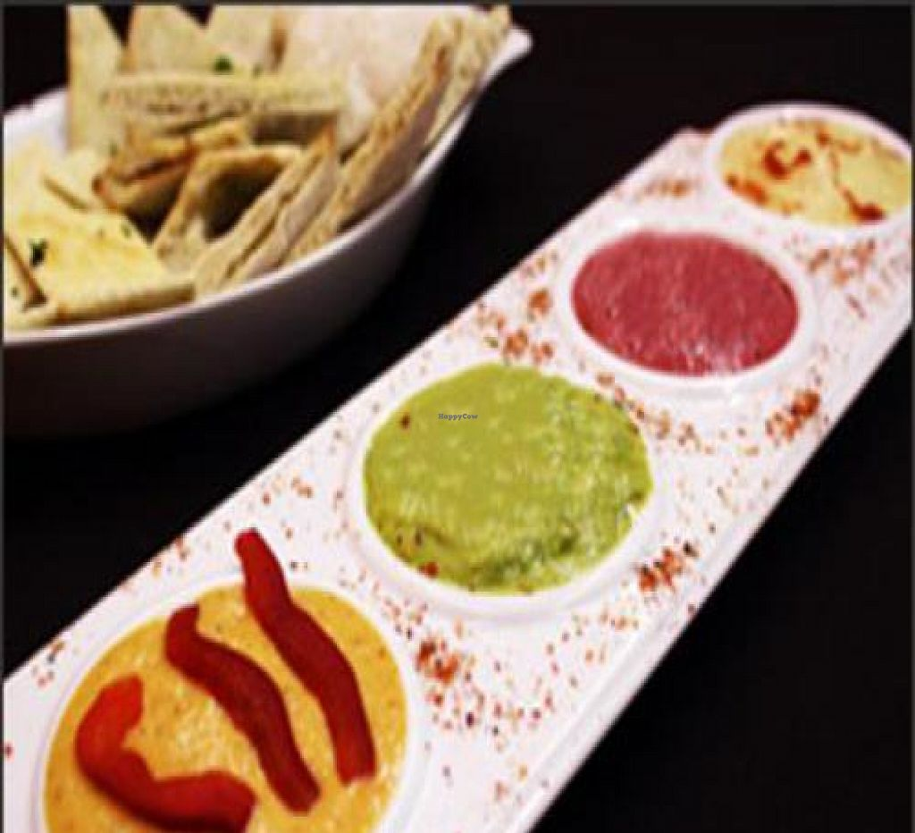 """Photo of California Cantina  by <a href=""""/members/profile/alicayer"""">alicayer</a> <br/>Four awesome flavors of VEGAN hummus! <br/> October 3, 2011  - <a href='/contact/abuse/image/28549/191919'>Report</a>"""