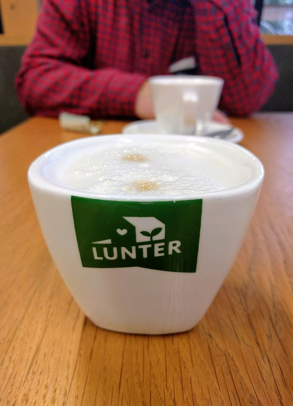"Photo of Lunter Kuchyňa  by <a href=""/members/profile/CoconutRice"">CoconutRice</a> <br/>Latte with soy milk <br/> February 7, 2018  - <a href='/contact/abuse/image/28557/356162'>Report</a>"