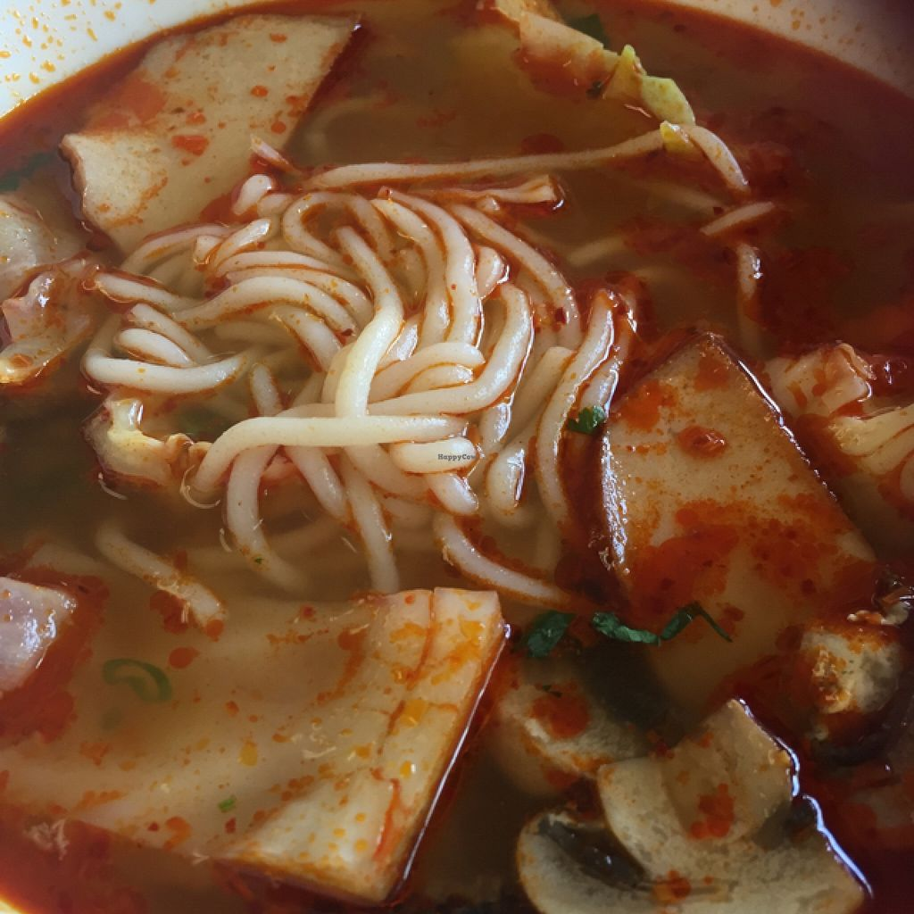 """Photo of Veggie Garden  by <a href=""""/members/profile/happycowgirl"""">happycowgirl</a> <br/>Royal Hue Soup Noodle (#11) <br/> September 6, 2015  - <a href='/contact/abuse/image/28560/116581'>Report</a>"""