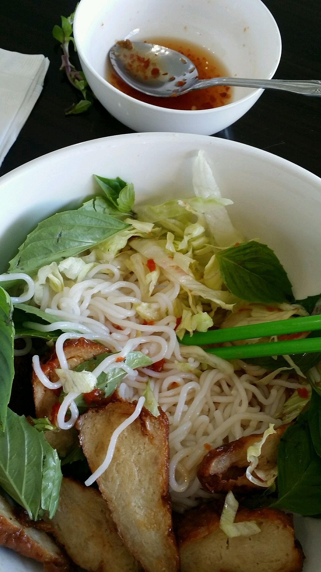 """Photo of Veggie Garden  by <a href=""""/members/profile/maltinej"""">maltinej</a> <br/>noodles with seasoned soy meat <br/> September 16, 2017  - <a href='/contact/abuse/image/28560/305175'>Report</a>"""