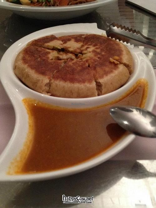 """Photo of Kechara Oasis  by <a href=""""/members/profile/jing"""">jing</a> <br/>Tibetan Pancake with Masala Sauce <br/> April 5, 2012  - <a href='/contact/abuse/image/28561/30245'>Report</a>"""
