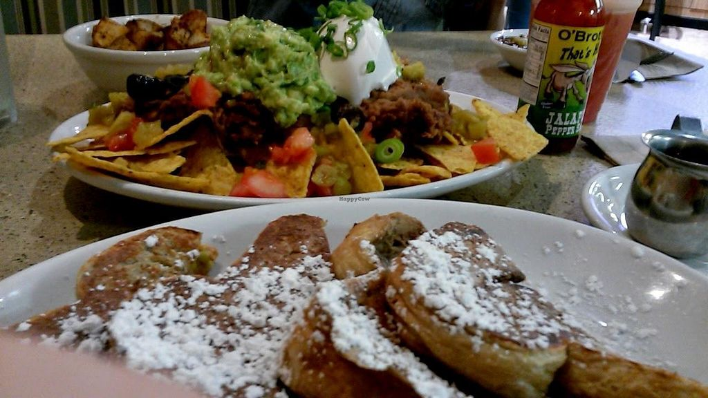 """Photo of Mother's Market & Kitchen - Brea  by <a href=""""/members/profile/LiilyPadd"""">LiilyPadd</a> <br/>French toast and nachos! <br/> November 12, 2014  - <a href='/contact/abuse/image/28564/85248'>Report</a>"""