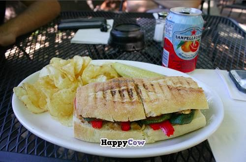 """Photo of Shameless Grounds  by <a href=""""/members/profile/Raesock"""">Raesock</a> <br/>Farmer's Daughter Sandwich with chips <br/> October 14, 2013  - <a href='/contact/abuse/image/28565/56726'>Report</a>"""