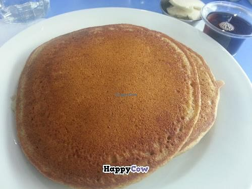 """Photo of Consciousness-Blossoms  by <a href=""""/members/profile/eric"""">eric</a> <br/>vegan banana pancakes <br/> October 25, 2013  - <a href='/contact/abuse/image/2856/57271'>Report</a>"""
