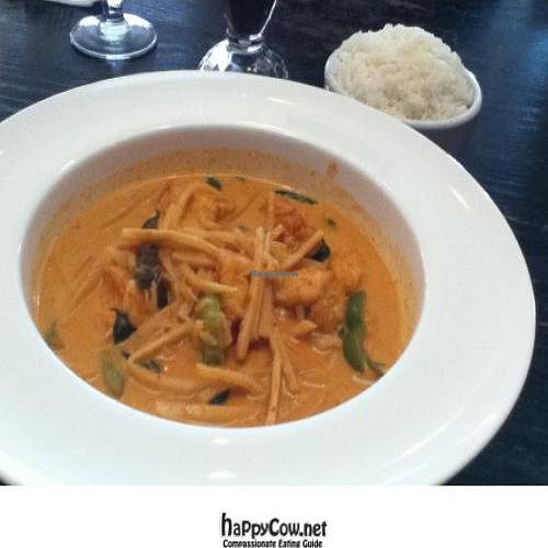 """Photo of My Thai  by <a href=""""/members/profile/PennsyltuckyVeggie"""">PennsyltuckyVeggie</a> <br/>Tofu Red Curry <br/> October 20, 2011  - <a href='/contact/abuse/image/28594/11371'>Report</a>"""