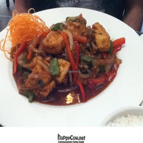 "Photo of My Thai  by <a href=""/members/profile/PennsyltuckyVeggie"">PennsyltuckyVeggie</a> <br/>Extra Spicy Tofu Thai Basil <br/> October 20, 2011  - <a href='/contact/abuse/image/28594/11373'>Report</a>"