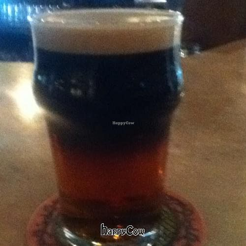 """Photo of Otto's Pub and Brewery  by <a href=""""/members/profile/PennsyltuckyVeggie"""">PennsyltuckyVeggie</a> <br/>yes, vegan beer.  <br/> October 31, 2012  - <a href='/contact/abuse/image/28595/39618'>Report</a>"""