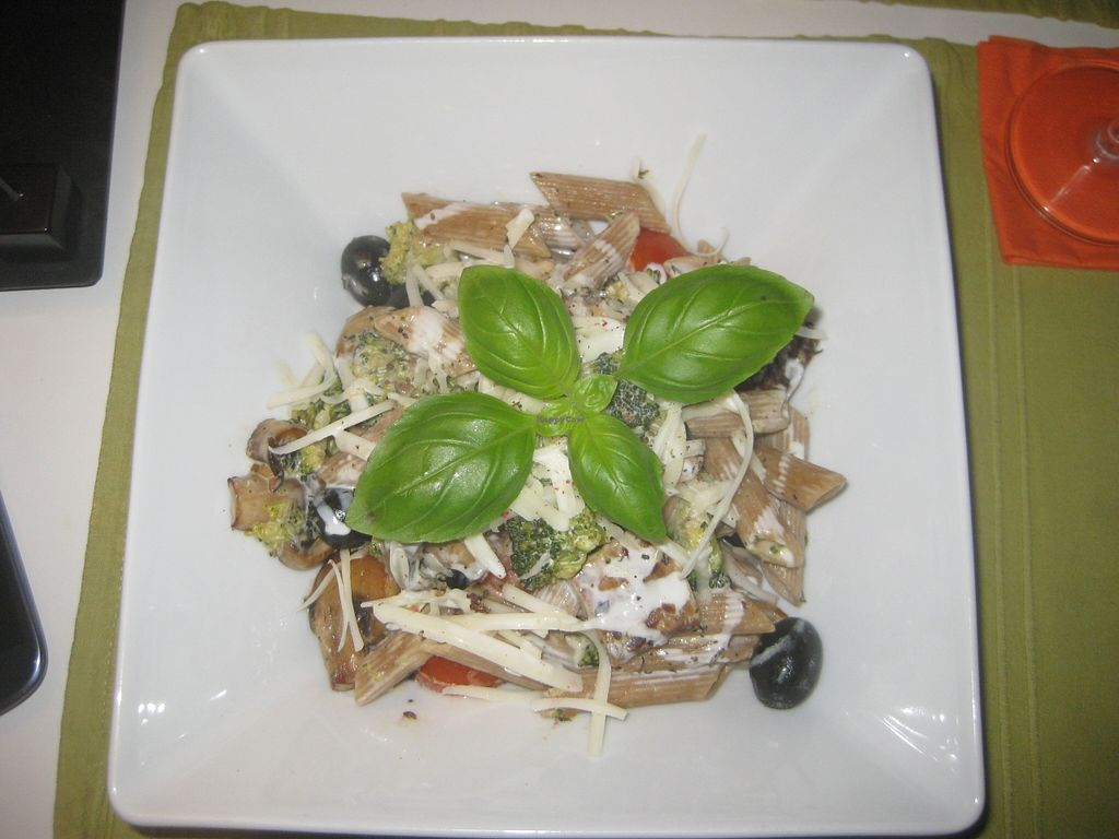 """Photo of CLOSED: Kwadrat  by <a href=""""/members/profile/jennyc32"""">jennyc32</a> <br/>Pasta with tempeh and veg <br/> April 9, 2016  - <a href='/contact/abuse/image/28613/143640'>Report</a>"""