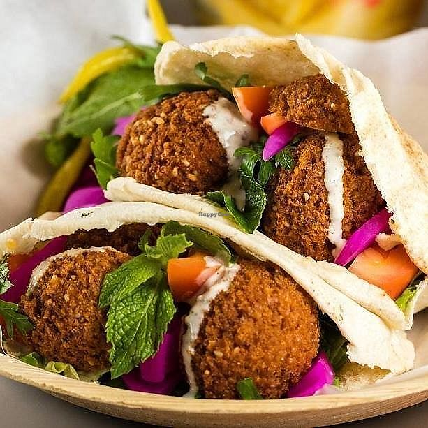 """Photo of Fal&Feel  by <a href=""""/members/profile/CRUSTYS"""">CRUSTYS</a> <br/>This is the best food you can  get for small money in Palma. Very delicious homemade Falafel with a big choice of vegetables on a Buffett. You can choose between classical Pita Bread or a Salad Box. If I could I would give 6 Stars ****** <br/> October 20, 2017  - <a href='/contact/abuse/image/28618/316866'>Report</a>"""