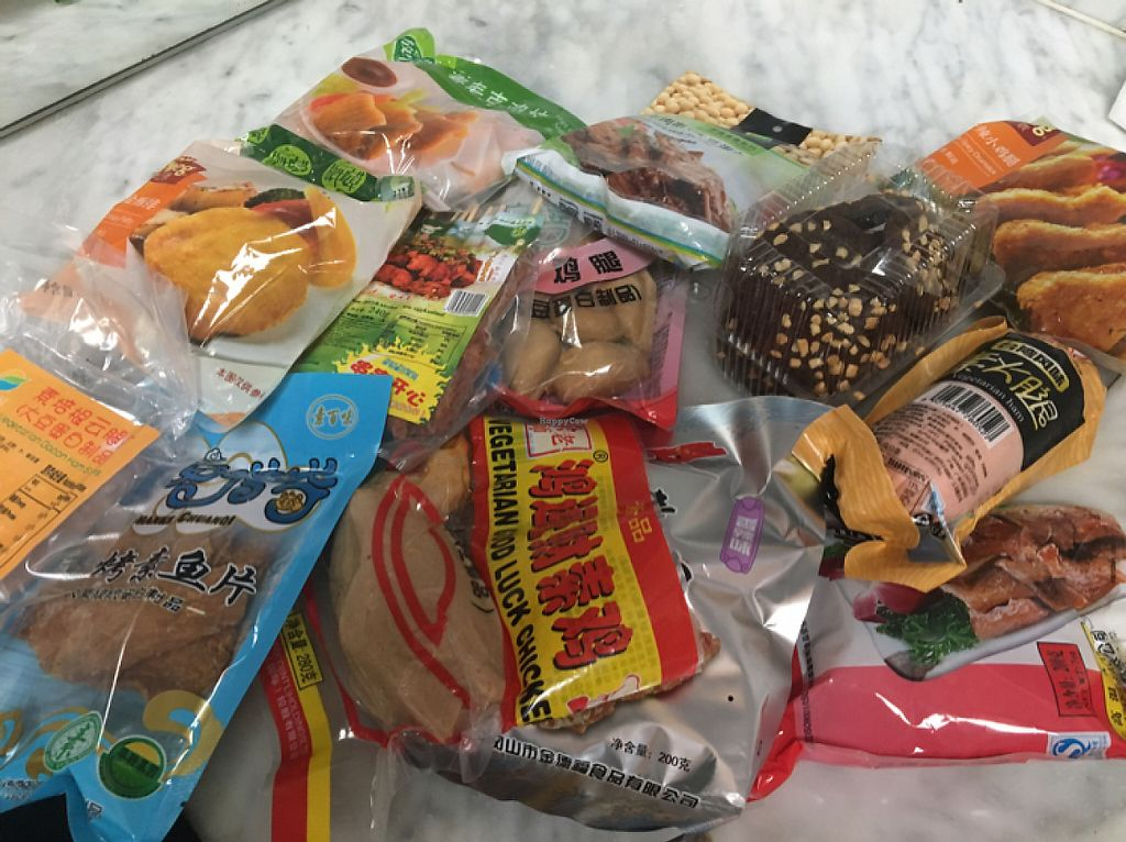 """Photo of Beijing Zheng Long Zhai Vegetarian  by <a href=""""/members/profile/theatreweird"""">theatreweird</a> <br/>Paid ¥136 for all of that.  <br/> June 4, 2017  - <a href='/contact/abuse/image/28635/265603'>Report</a>"""
