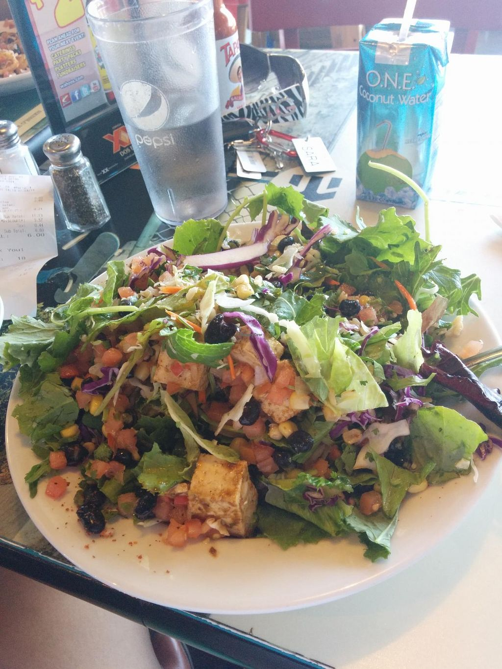 """Photo of Wahoo's  by <a href=""""/members/profile/Moneyz"""">Moneyz</a> <br/>Power Chopper Salad <br/> July 4, 2014  - <a href='/contact/abuse/image/28660/73205'>Report</a>"""