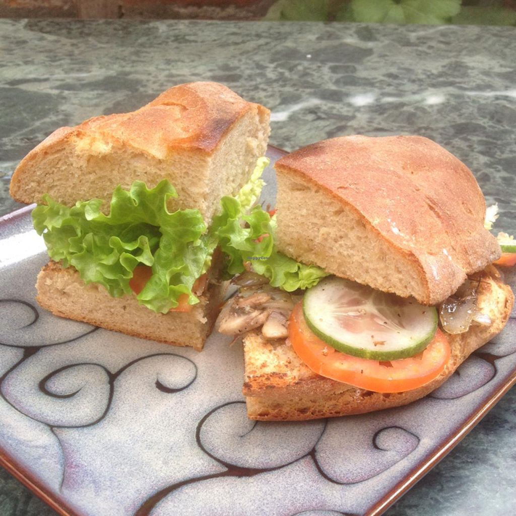 "Photo of CLOSED: Fine Grains Bakery  by <a href=""/members/profile/junglechick"">junglechick</a> <br/>sandwich with mushrooms and onion <br/> February 14, 2015  - <a href='/contact/abuse/image/28701/92988'>Report</a>"