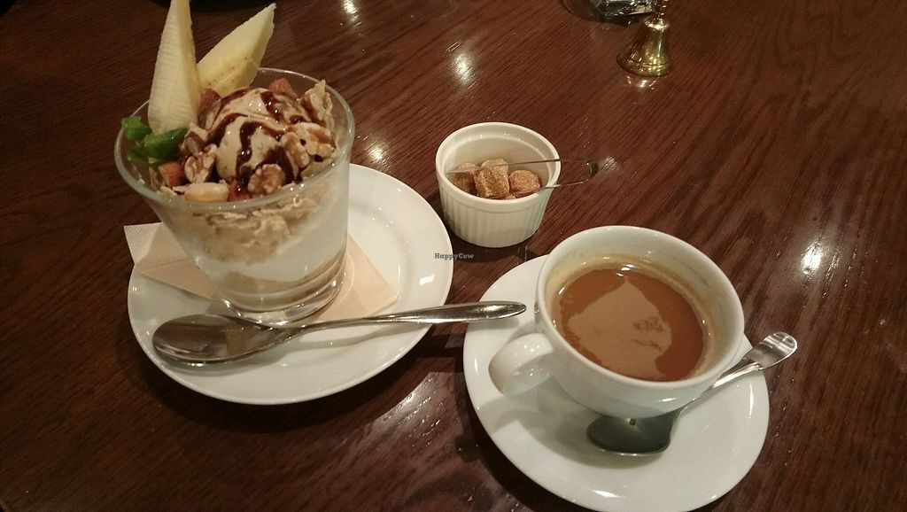 """Photo of T's Restaurant  by <a href=""""/members/profile/nekodrop"""">nekodrop</a> <br/>chocolate parfait and coffee <br/> September 3, 2017  - <a href='/contact/abuse/image/28740/300402'>Report</a>"""