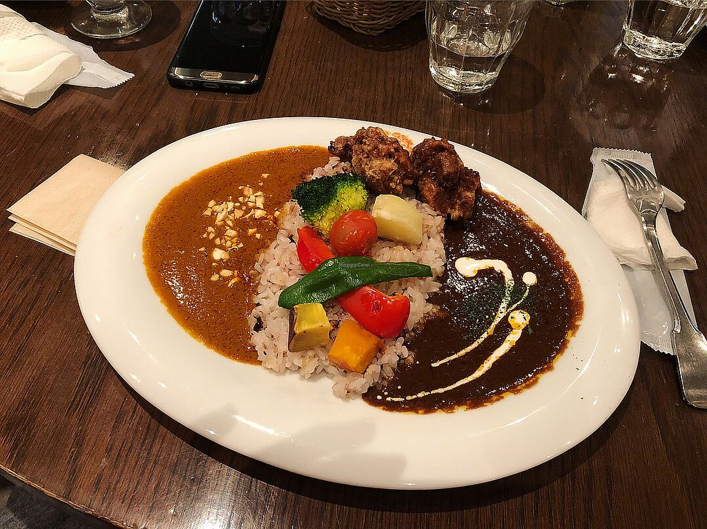 """Photo of T's Restaurant  by <a href=""""/members/profile/oasisisao"""">oasisisao</a> <br/>Half half curry <br/> May 14, 2018  - <a href='/contact/abuse/image/28740/399579'>Report</a>"""