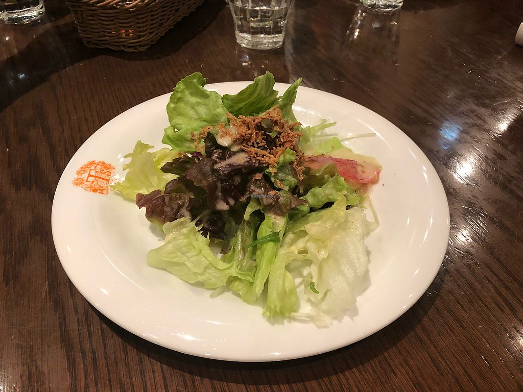 """Photo of T's Restaurant  by <a href=""""/members/profile/oasisisao"""">oasisisao</a> <br/>Course salad <br/> May 14, 2018  - <a href='/contact/abuse/image/28740/399580'>Report</a>"""