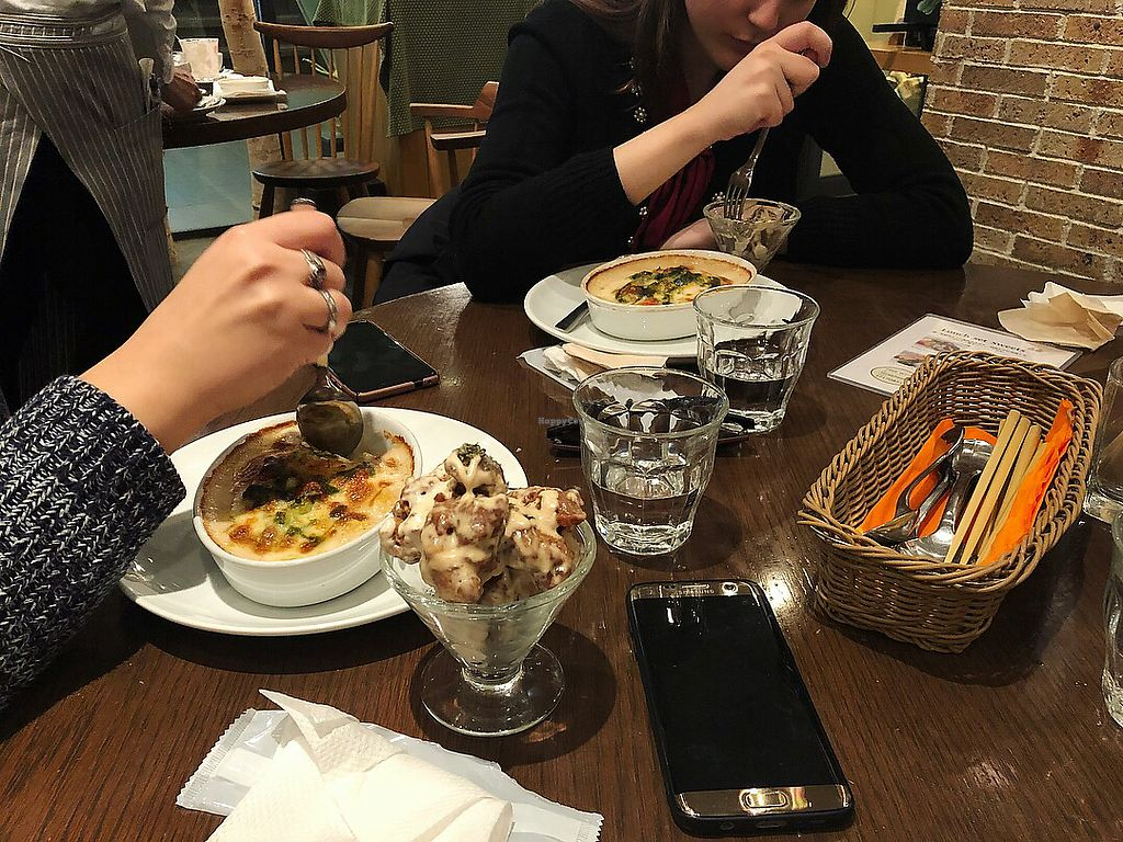 """Photo of T's Restaurant  by <a href=""""/members/profile/oasisisao"""">oasisisao</a> <br/>Lasagna for friends <br/> May 14, 2018  - <a href='/contact/abuse/image/28740/399581'>Report</a>"""