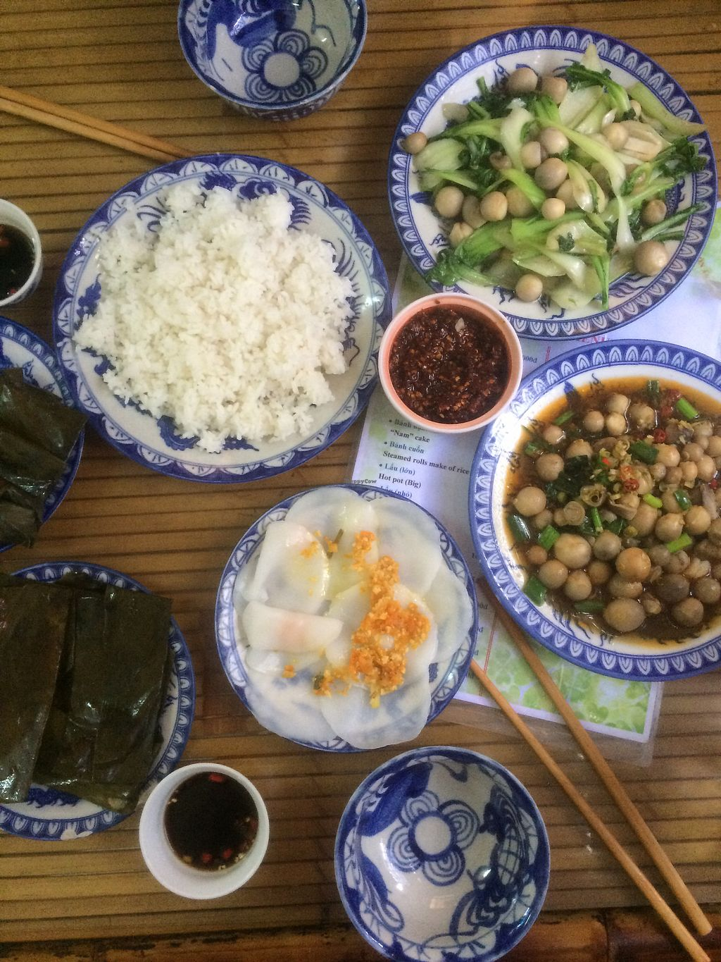 """Photo of Thanh Lieu  by <a href=""""/members/profile/Helentravels"""">Helentravels</a> <br/>citronella mushrooms, mushrooms with cabbage and""""cakes"""" <br/> July 25, 2017  - <a href='/contact/abuse/image/28812/284550'>Report</a>"""