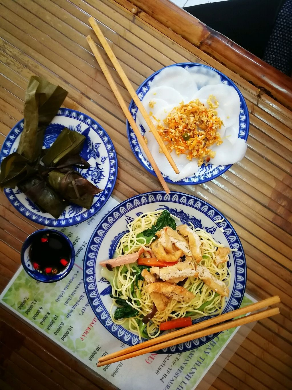 """Photo of Thanh Lieu  by <a href=""""/members/profile/Yoanne"""">Yoanne</a> <br/>mi xao (fried noodles) with some of the banh """"cakes"""" <br/> April 1, 2018  - <a href='/contact/abuse/image/28812/379197'>Report</a>"""