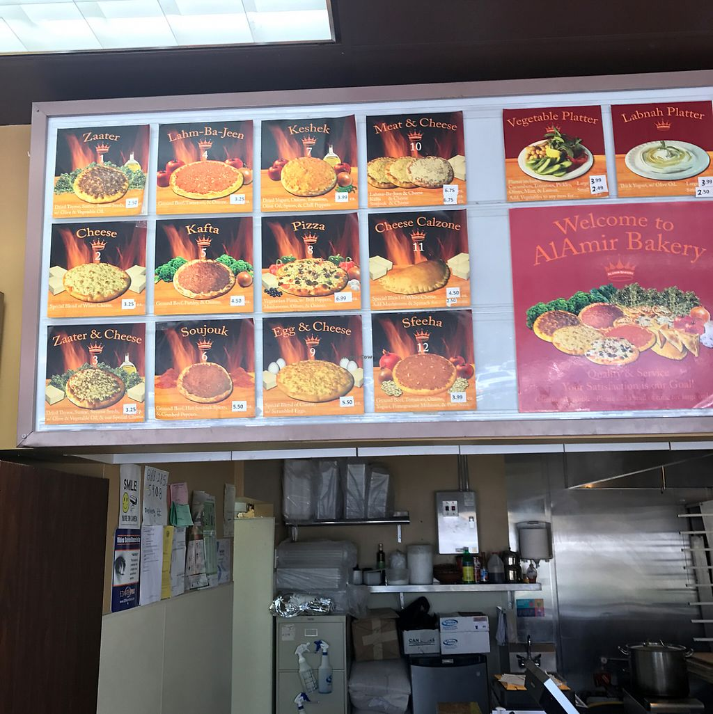 """Photo of Al Amir Bakery  by <a href=""""/members/profile/xmrfigx"""">xmrfigx</a> <br/>Menu Side 1 <br/> June 1, 2017  - <a href='/contact/abuse/image/28816/264907'>Report</a>"""