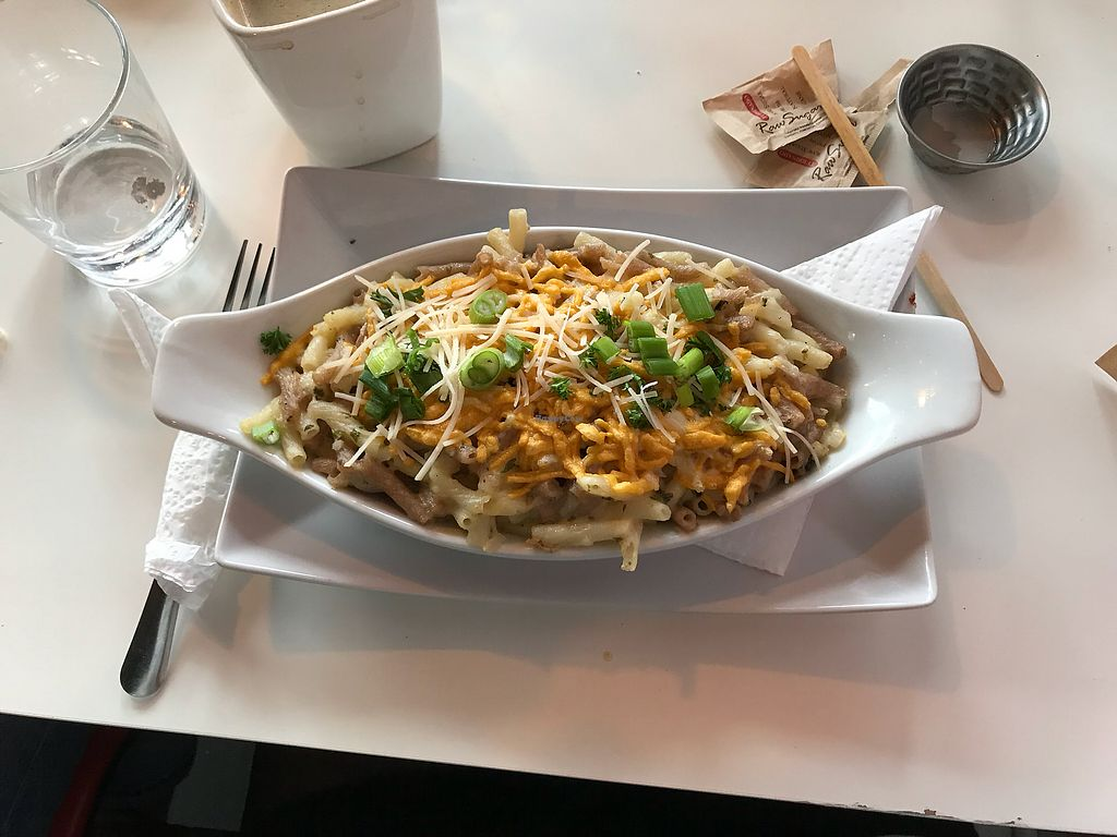 "Photo of Chomp Vegan Eatery  by <a href=""/members/profile/ohstephyy"">ohstephyy</a> <br/>Mac and cheese <br/> April 9, 2018  - <a href='/contact/abuse/image/28869/382990'>Report</a>"