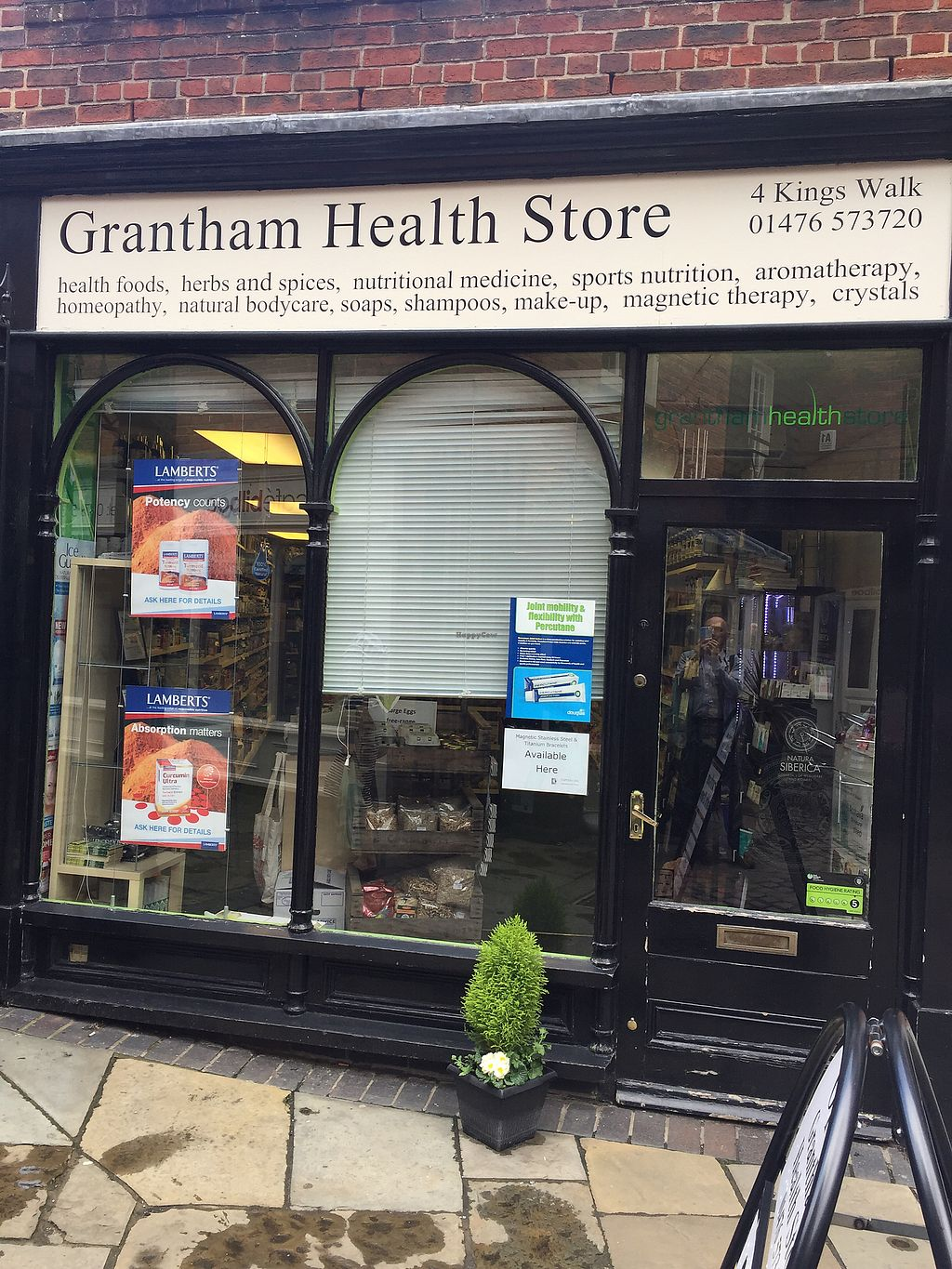 "Photo of Grantham Health Store  by <a href=""/members/profile/Happyhealthyeater"">Happyhealthyeater</a> <br/>Street view <br/> April 25, 2018  - <a href='/contact/abuse/image/28873/390913'>Report</a>"