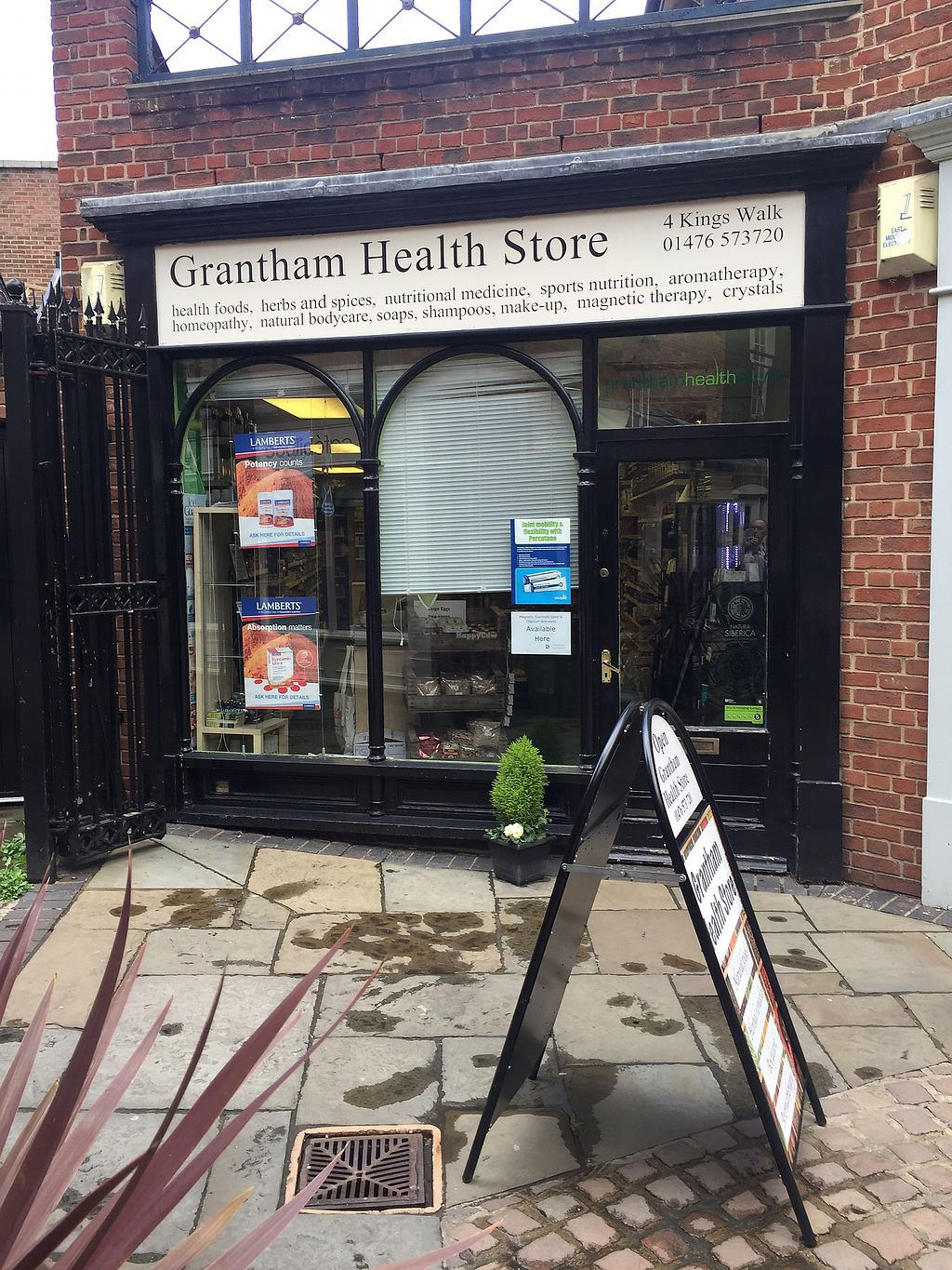 "Photo of Grantham Health Store  by <a href=""/members/profile/Happyhealthyeater"">Happyhealthyeater</a> <br/>Street view #2 <br/> April 25, 2018  - <a href='/contact/abuse/image/28873/390919'>Report</a>"