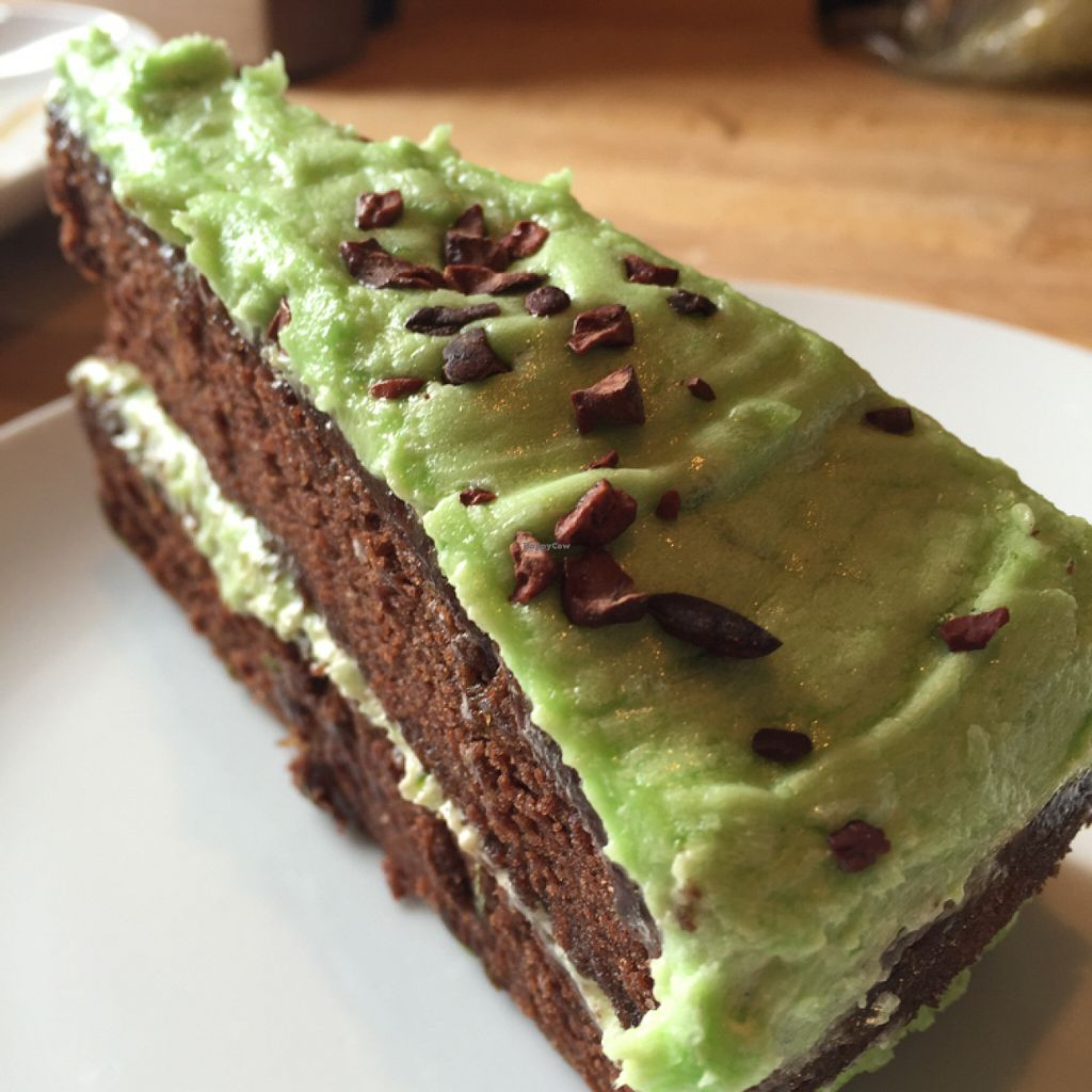 """Photo of Roots  Fruits and Flowers - Great Western Rd  by <a href=""""/members/profile/SaraFitz"""">SaraFitz</a> <br/>lime and chocolate cake  <br/> June 23, 2016  - <a href='/contact/abuse/image/28899/155776'>Report</a>"""
