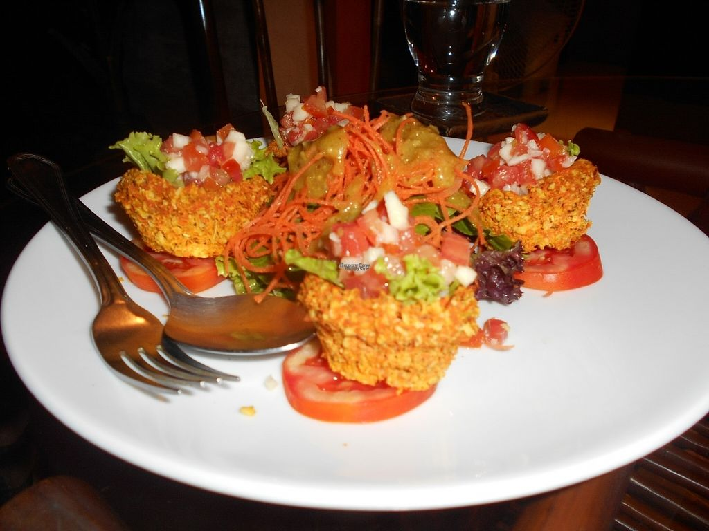 """Photo of Rasayana Raw Food Cafe  by <a href=""""/members/profile/Kelly%20Kelly"""">Kelly Kelly</a> <br/>Rasayana Raw Food Cafe - Taco Cups - tasty! <br/> October 29, 2016  - <a href='/contact/abuse/image/28929/185137'>Report</a>"""