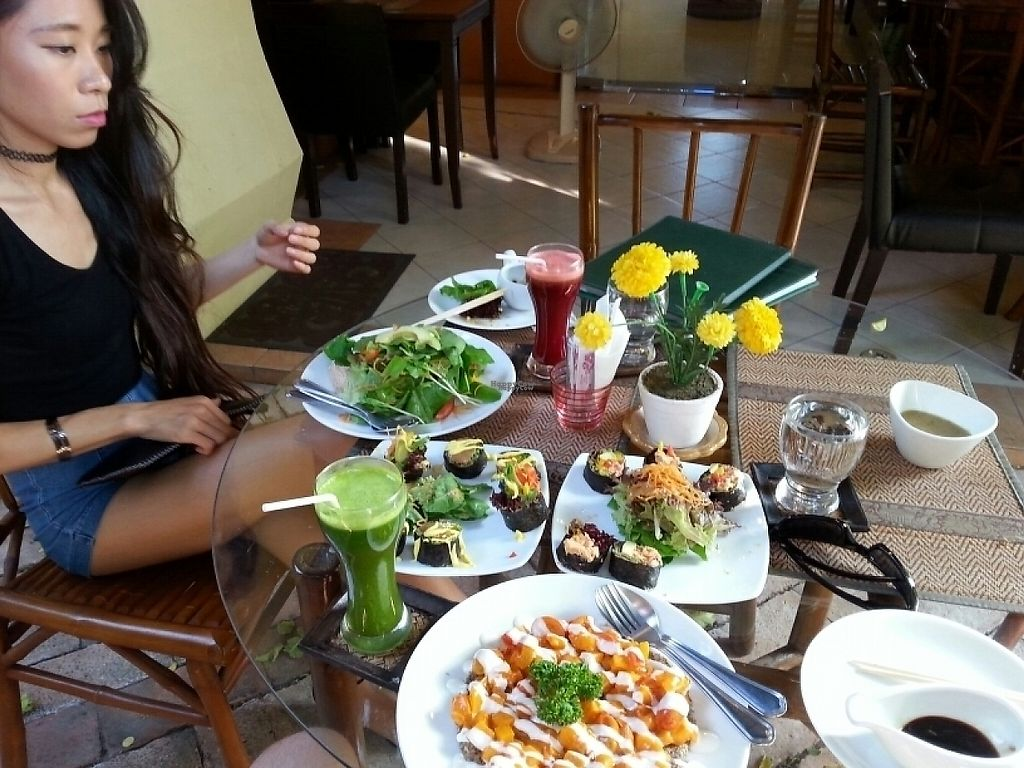 """Photo of Rasayana Raw Food Cafe  by <a href=""""/members/profile/ForbesMetalhead"""">ForbesMetalhead</a> <br/>First visit. Decent food. Great concept.  <br/> January 24, 2017  - <a href='/contact/abuse/image/28929/215837'>Report</a>"""