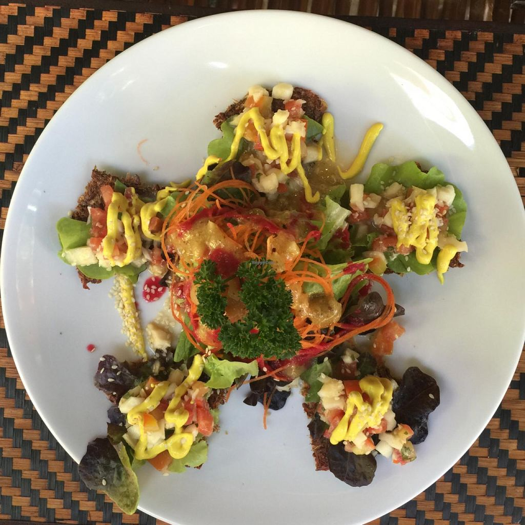 """Photo of Rasayana Raw Food Cafe  by <a href=""""/members/profile/earthville"""">earthville</a> <br/>tacitos <br/> February 28, 2015  - <a href='/contact/abuse/image/28929/94340'>Report</a>"""