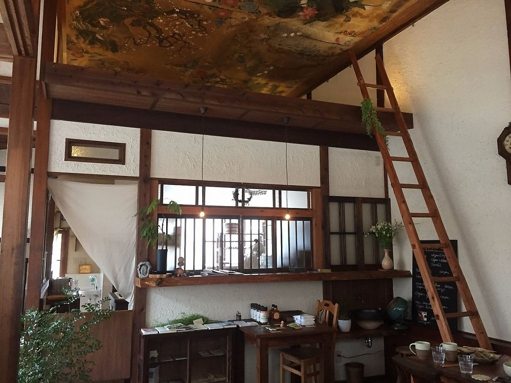 """Photo of Yasai Cafe Meguri  by <a href=""""/members/profile/Emilyk_90"""">Emilyk_90</a> <br/>Restaurant interior <br/> April 23, 2017  - <a href='/contact/abuse/image/28944/251462'>Report</a>"""
