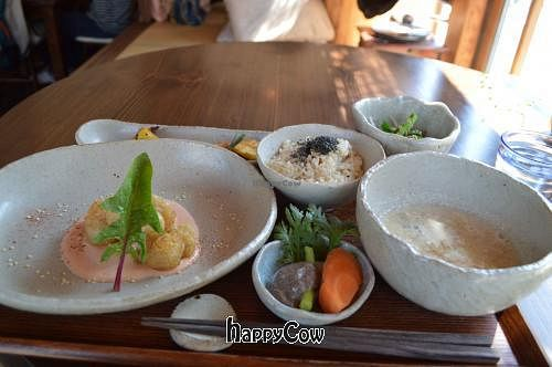 """Photo of Yasai Cafe Meguri  by <a href=""""/members/profile/Shauna333"""">Shauna333</a> <br/>Lunch (March 2013) <br/> May 4, 2013  - <a href='/contact/abuse/image/28944/47761'>Report</a>"""
