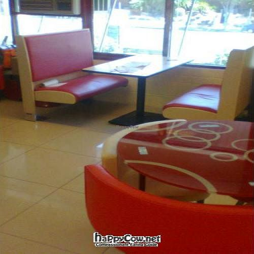 """Photo of Mirchh Masala Chaat Court  by <a href=""""/members/profile/vegan_simon"""">vegan_simon</a> <br/>window booths <br/> November 20, 2011  - <a href='/contact/abuse/image/28961/12270'>Report</a>"""