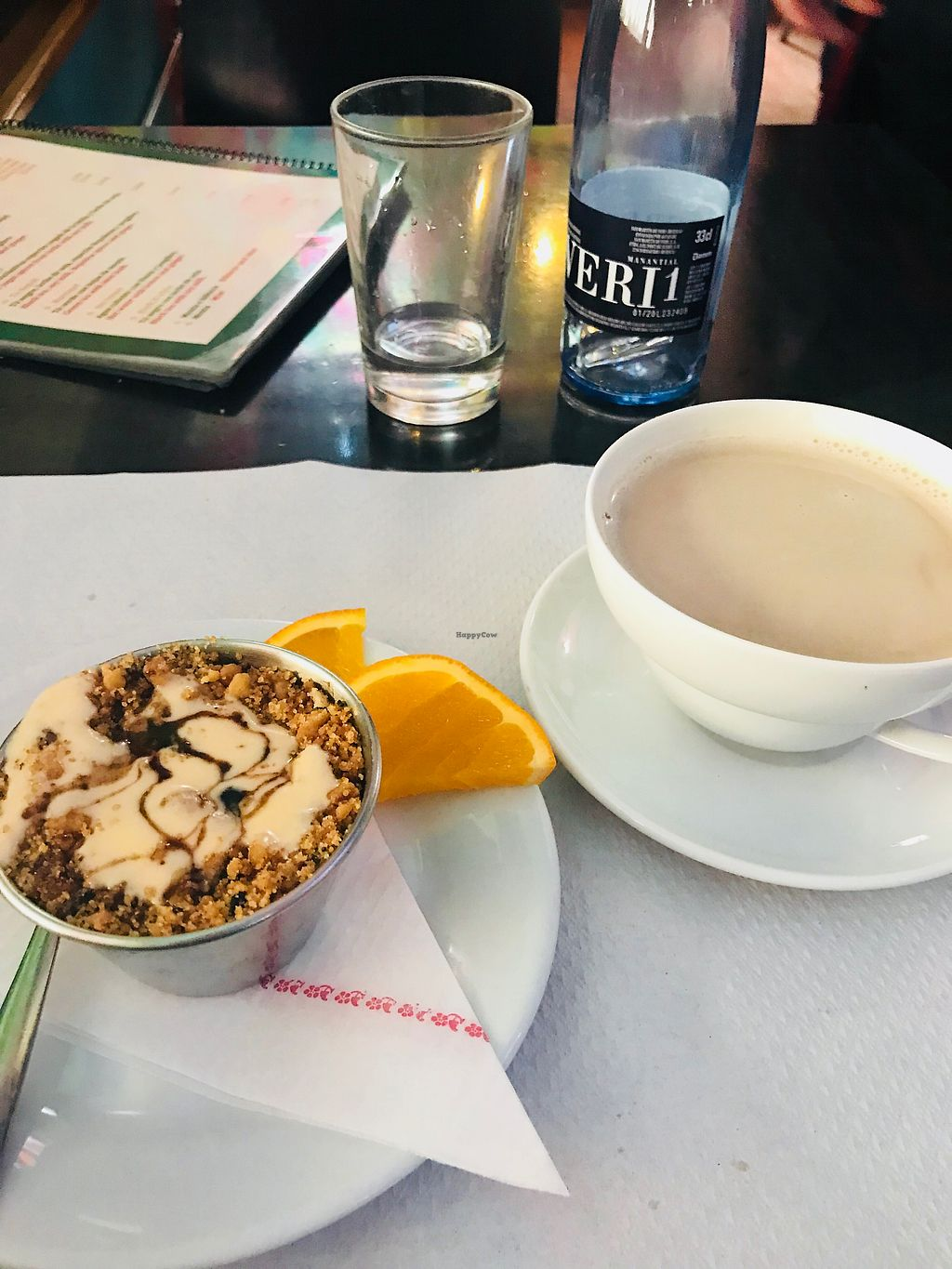 """Photo of Veggie Garden - Dels Angels  by <a href=""""/members/profile/doctorjay"""">doctorjay</a> <br/>Apple crumble and Nepalese tea <br/> April 2, 2018  - <a href='/contact/abuse/image/28983/379803'>Report</a>"""
