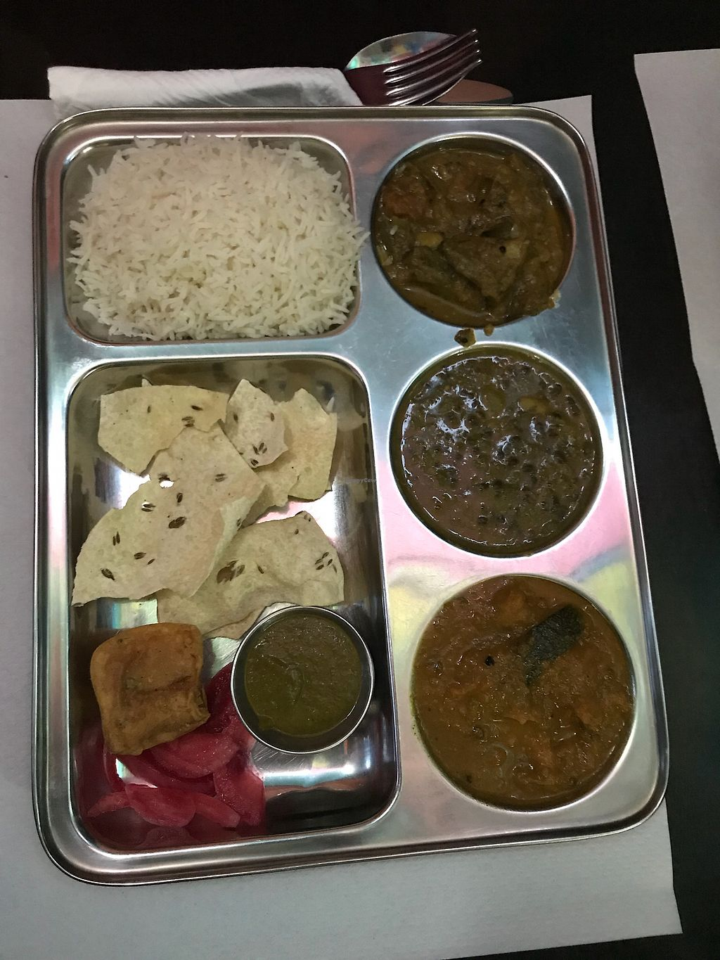 """Photo of Veggie Garden - Dels Angels  by <a href=""""/members/profile/Vegetablelover"""">Vegetablelover</a> <br/>Thali <br/> April 6, 2018  - <a href='/contact/abuse/image/28983/381538'>Report</a>"""
