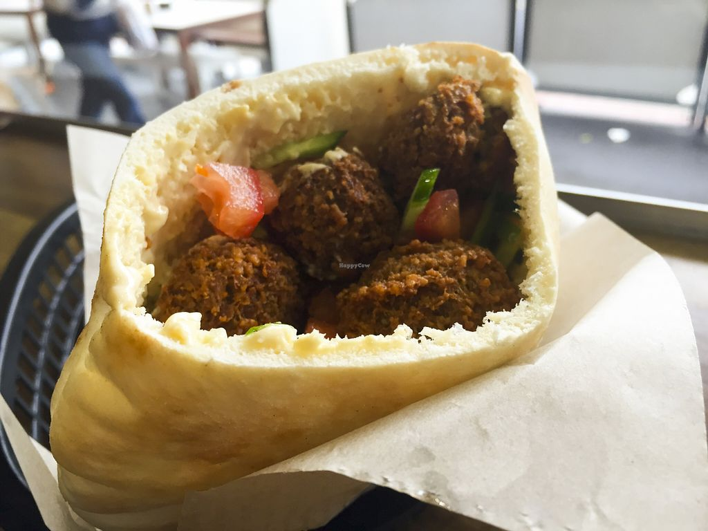 """Photo of Falafel Omisi  by <a href=""""/members/profile/karlaess"""">karlaess</a> <br/>Falafel Pocket <br/> August 8, 2015  - <a href='/contact/abuse/image/28989/112747'>Report</a>"""