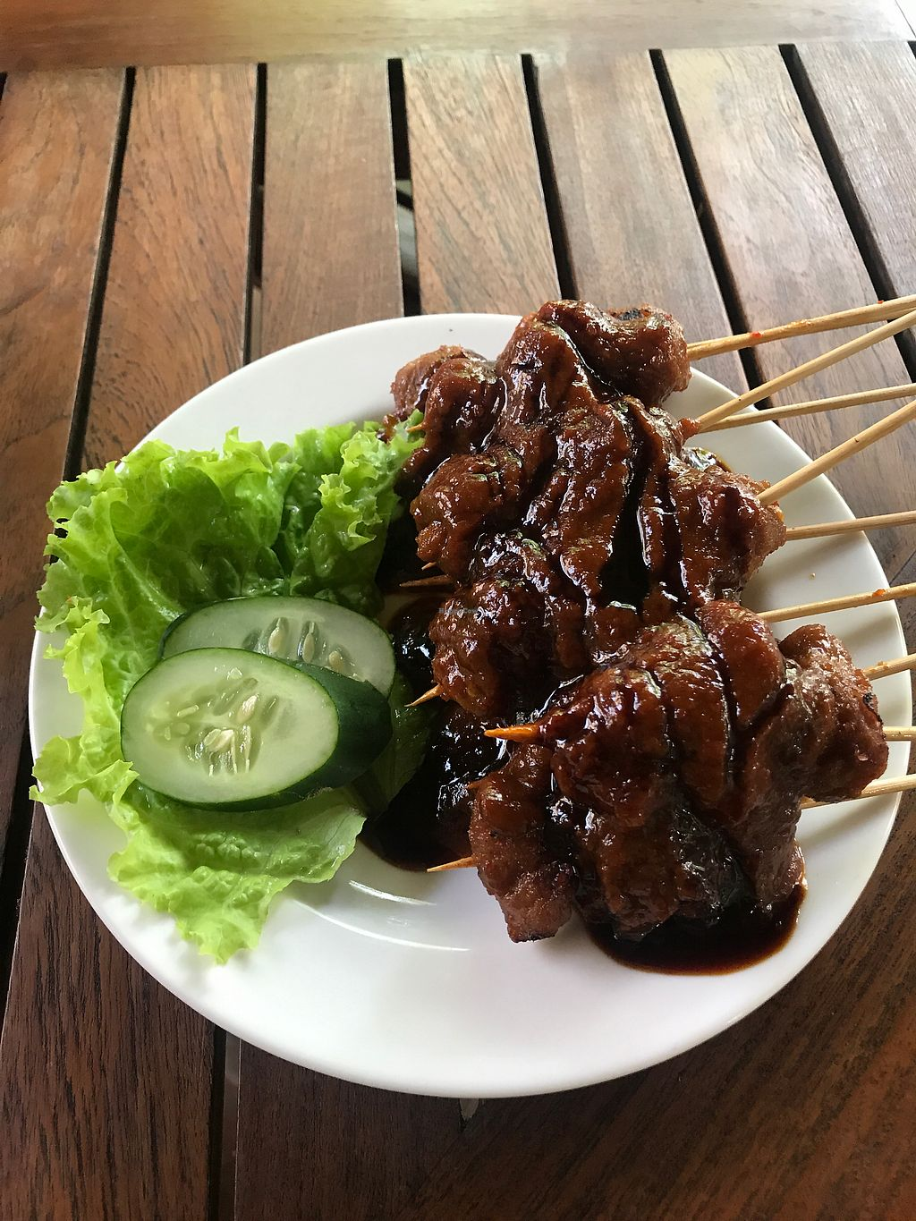"Photo of Tasty Vegan - Seminyak  by <a href=""/members/profile/VeggT"">VeggT</a> <br/>Cooking class - satay  <br/> November 29, 2017  - <a href='/contact/abuse/image/29016/330361'>Report</a>"